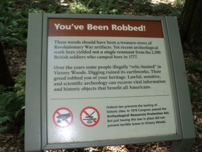 You've Been Robbed! Marker image. Click for full size.