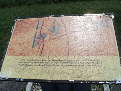 New York and Massachusetts Forces Marker image. Click for full size.