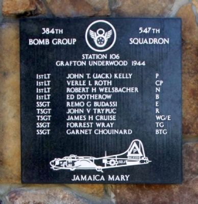 384th Bombardment Group 547th Squadron image. Click for full size.