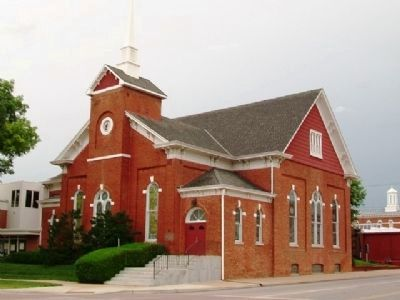 First United Methodist Church of Nebraska City image. Click for full size.