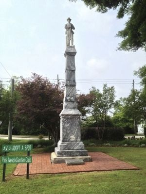 Confederate Dead statue image. Click for full size.