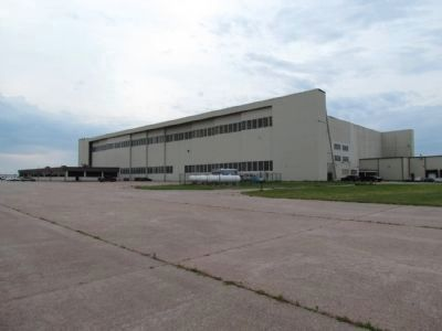 North Double-Cantilever Hangar image. Click for full size.