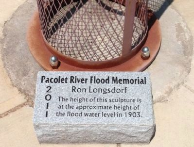The Pacolet River Flood of 1903 Marker image. Click for full size.