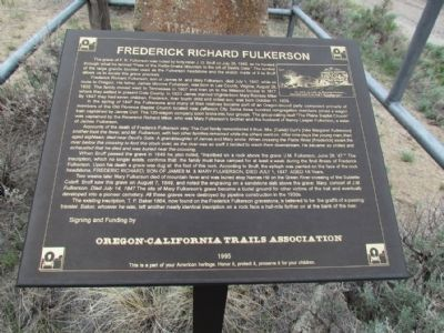 Frederick Richard Fulkerson Marker image. Click for full size.