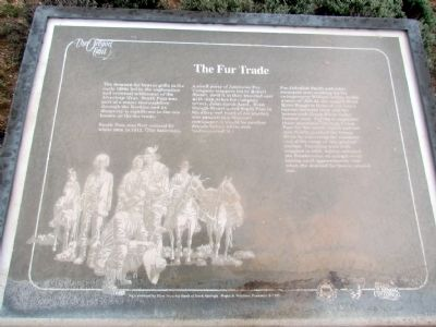 The Fur Trade Marker image. Click for full size.