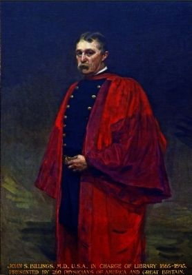 John Shaw Billings<br>by Cecilia Beaux image. Click for full size.