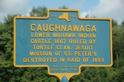 Caughnawaga Marker image. Click for full size.