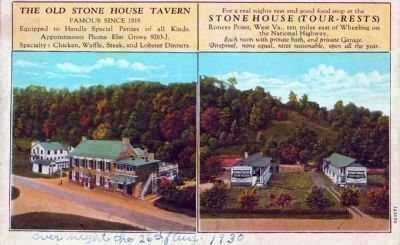 Greetings From Stone House Tour-Rests Tavern image. Click for full size.