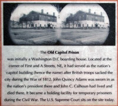 Old Capitol Prison image. Click for full size.