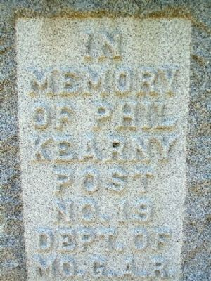 Phil Kearny Post No. 19 G.A.R. Memorial Dedication image. Click for full size.