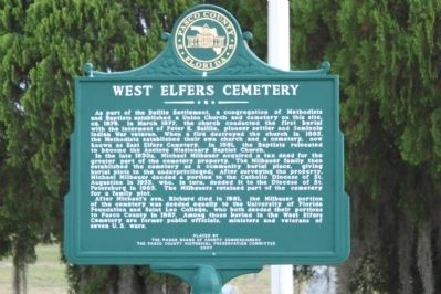 West Elfers Cemetery Marker image. Click for full size.