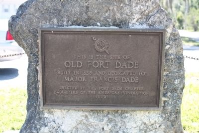 Site of Old Fort Dade Marker image. Click for full size.