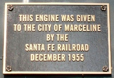 Santa Fe 2546 Donor Marker image. Click for full size.