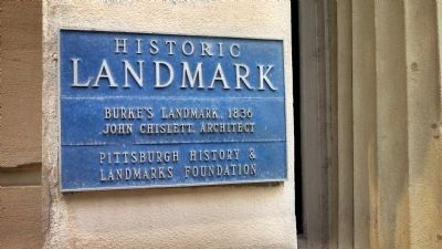 Burke's Landmark Marker image. Click for full size.