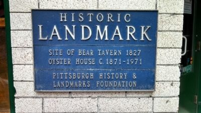 Site of Bear Tavern Marker image. Click for full size.