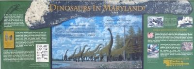 Dinosaurs in Maryland! Marker image. Click for full size.