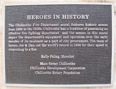 Heroes in History Marker image. Click for full size.