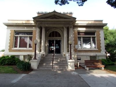 Lompoc Carnegie Library image. Click for full size.