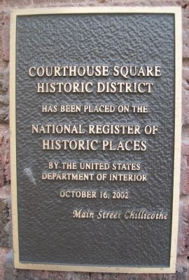 601-605 Locust Street NRHP Marker image. Click for full size.