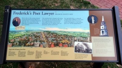 Frederick's Poet Lawyer Marker image. Click for full size.