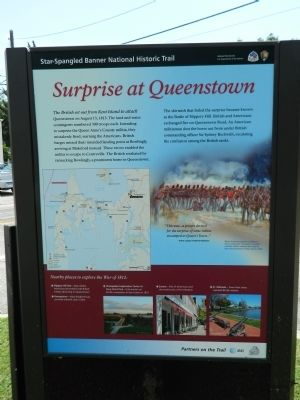 Surprise at Queenstown Marker image. Click for full size.