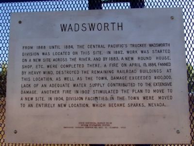 Wadsworth Marker image. Click for full size.