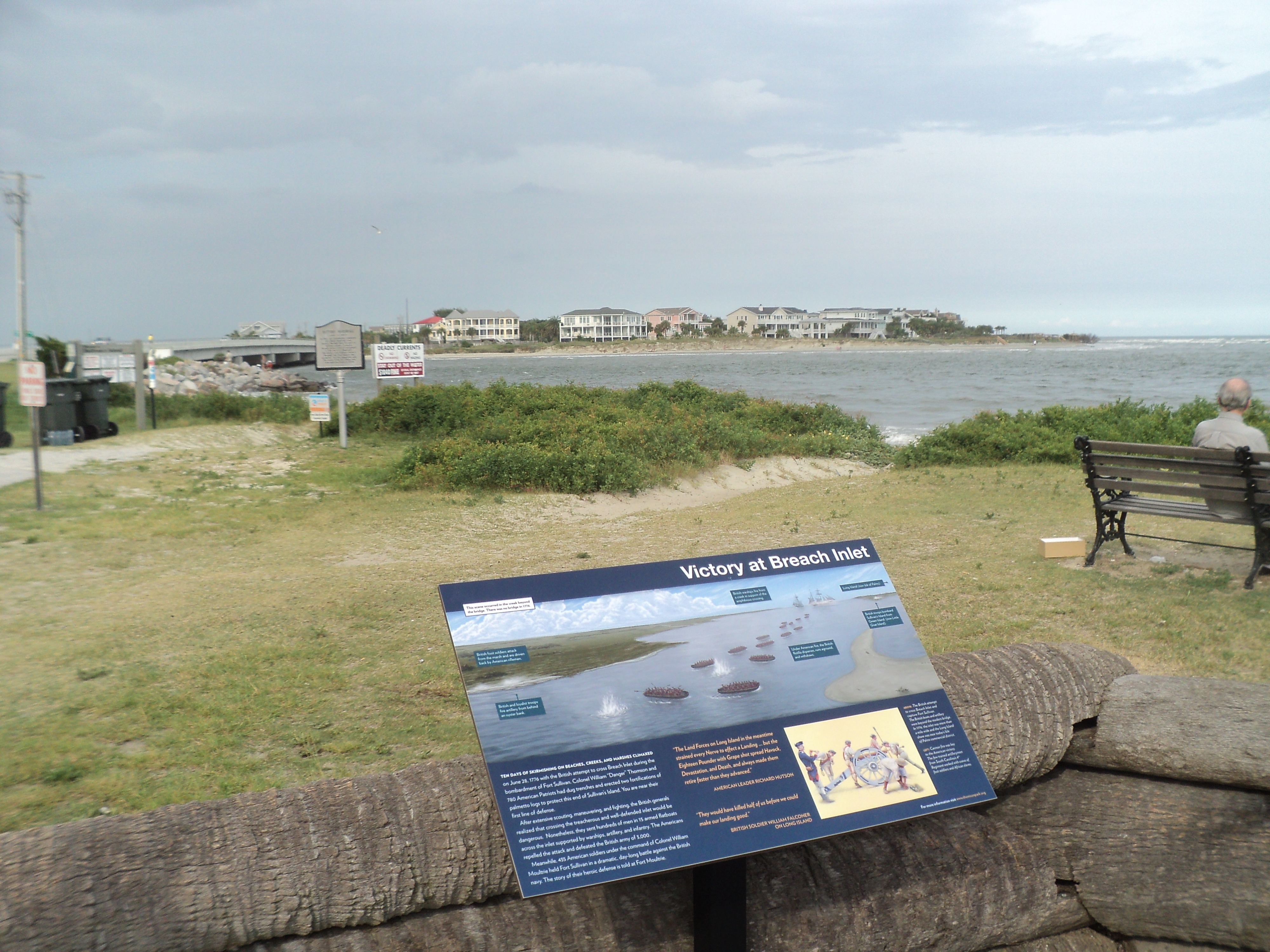 Victory at Breach Inlet Marker