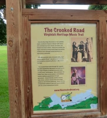 The Crooked Road Marker image, Click for more information