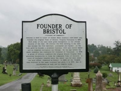Founder of Bristol Marker image. Click for full size.