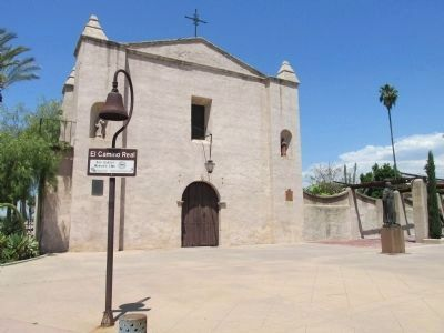 Mission San Gabriel image. Click for full size.