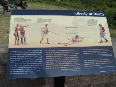 Liberty or Death Marker image. Click for full size.