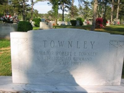 Major Robert E. Townley Marker image. Click for full size.