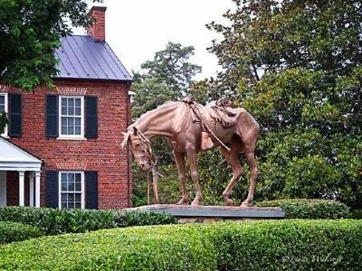 Memorial to Civil War Horses image. Click for full size.