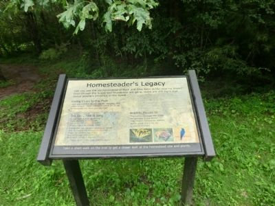 Homesteader's Legacy Marker image. Click for full size.