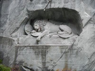The Lion Monument image. Click for full size.