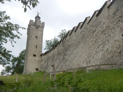 Lucerne's City Wall image. Click for full size.