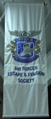 Air Forces Escape & Evasion Banner image. Click for full size.
