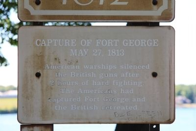 Capture of Fort George Marker image. Click for full size.