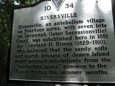 Riversville Marker image. Click for full size.
