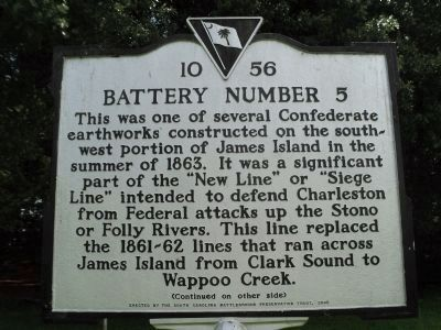 Battery Number 5 Marker (Side 1) image. Click for full size.