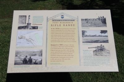 Fort Niagara's Rifle Range Marker image. Click for full size.