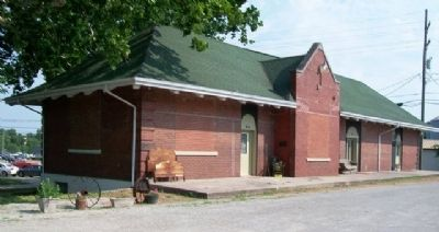 Former Rock Island Railway Depot image. Click for full size.