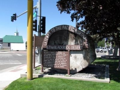 Winnemucca to the Sea Highway Marker Photo, Click for full size