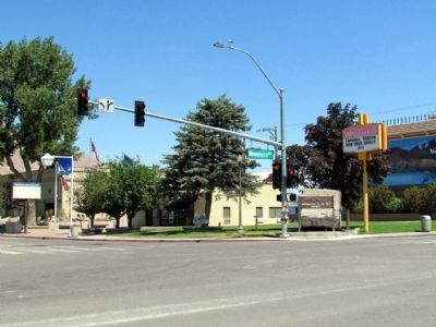 Melarkey Street and W. Winnemucca Blvd Intersection Photo, Click for full size