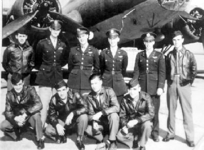 Lt J E Bass Pilot and Crew image. Click for more information.