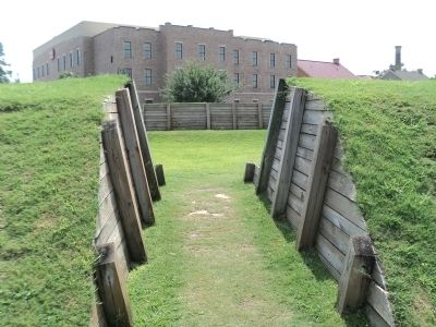 Entrance to the Redoubt image. Click for full size.