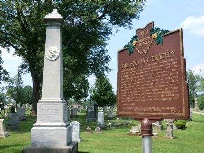 The Deceased of Co. F. 115th Ohio Volunteer Infantry Marker image. Click for full size.