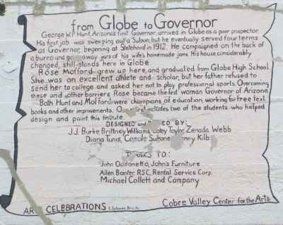 From Globe to Governor Marker image. Click for full size.
