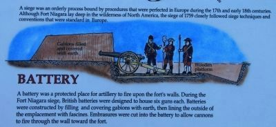 The Siege of Fort Niagara Marker image. Click for full size.