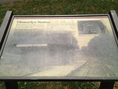 Glencarlyn Station Marker image. Click for full size.